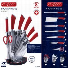 CENOCCO CC-5001, SET DE COUTEAUX 8 PIÈCES -