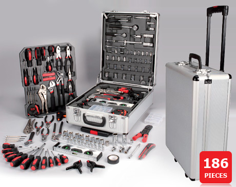 valise complete 186 outils